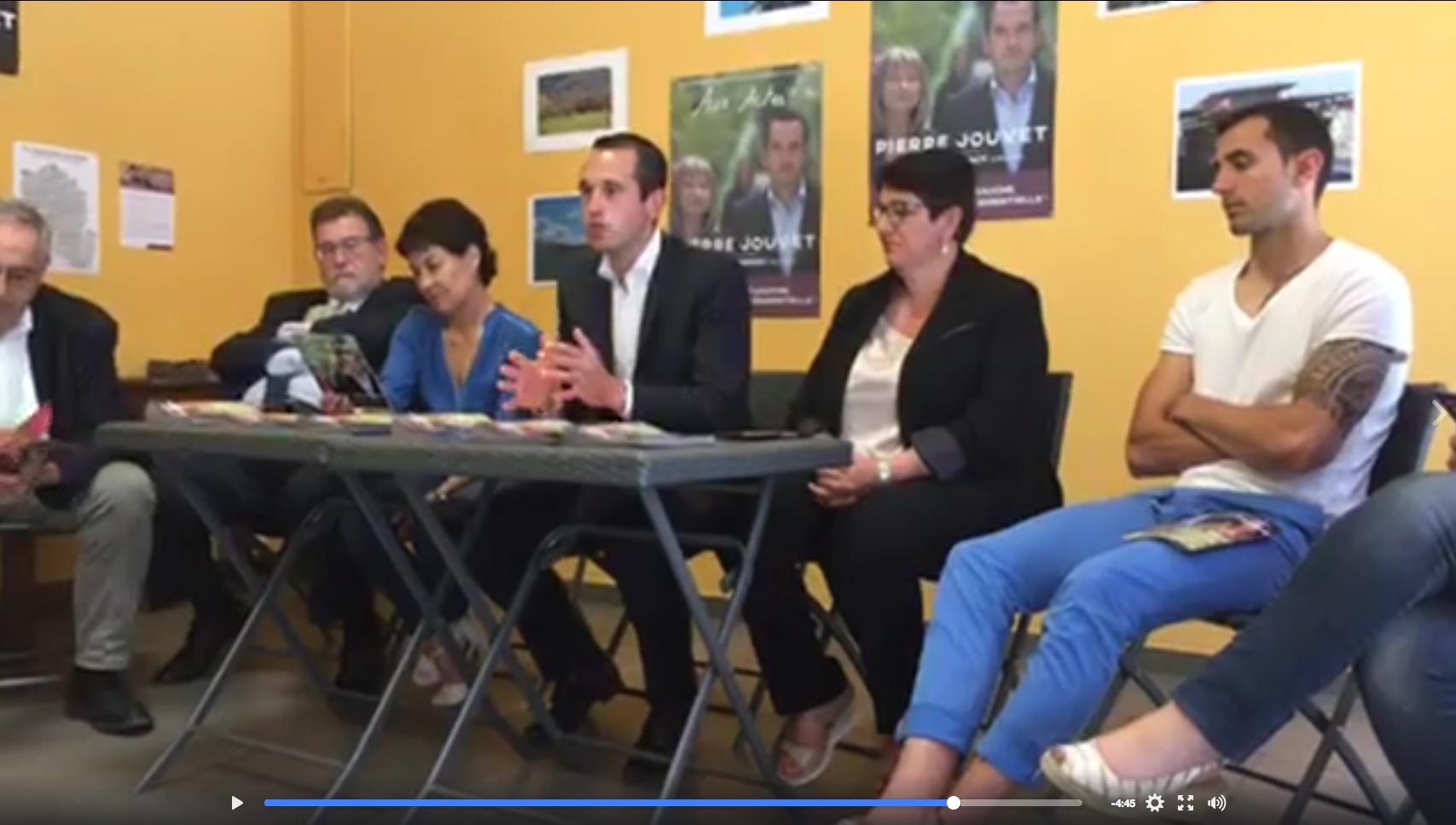 Vidéo : Présentation de mon contrat de législature à la presse