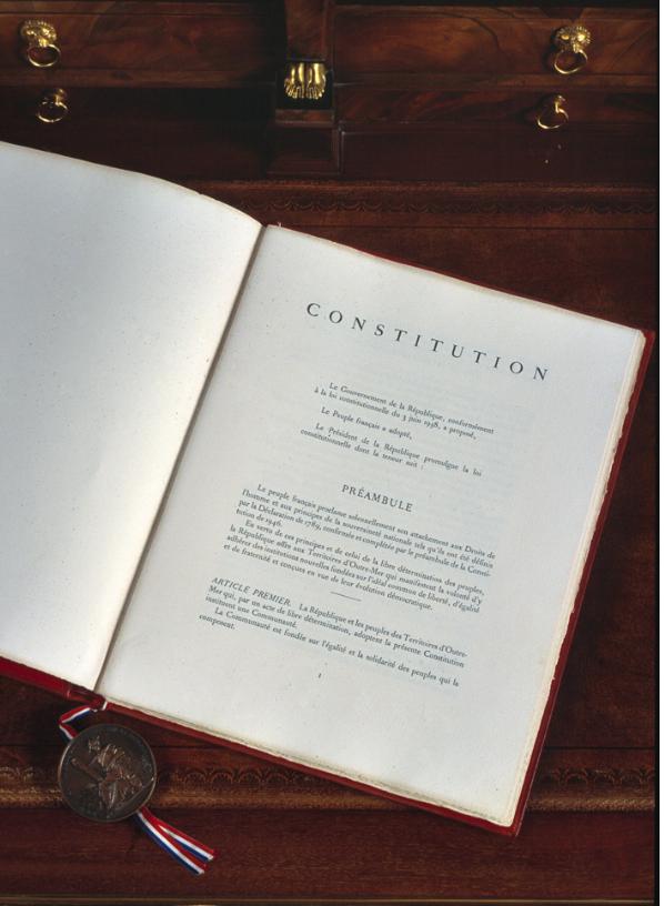 60ème anniversaire de la constitution de la Vème République