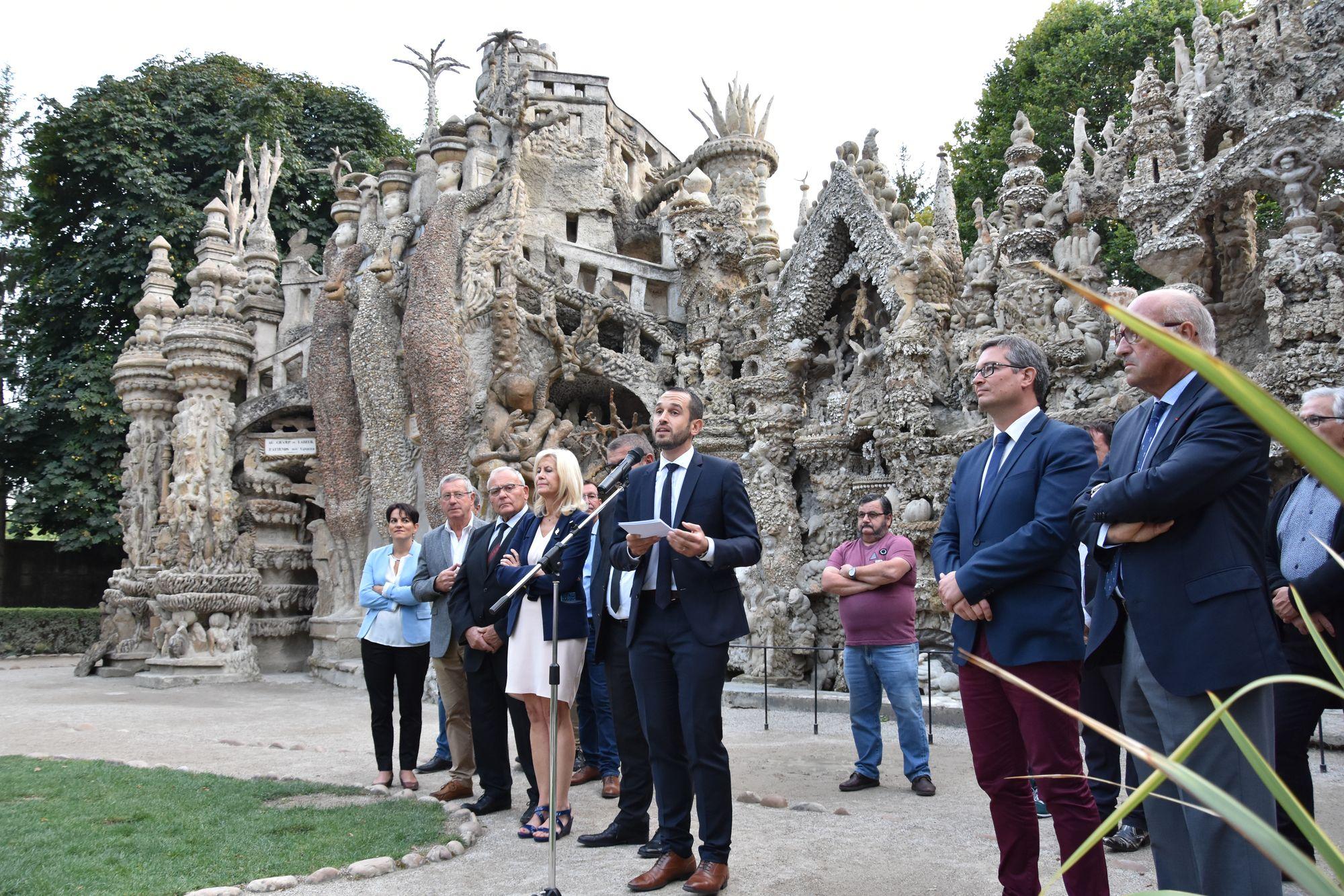 Le Palais Idéal du Facteur Cheval bientôt classé au patrimoine mondial de l'UNESCO ?