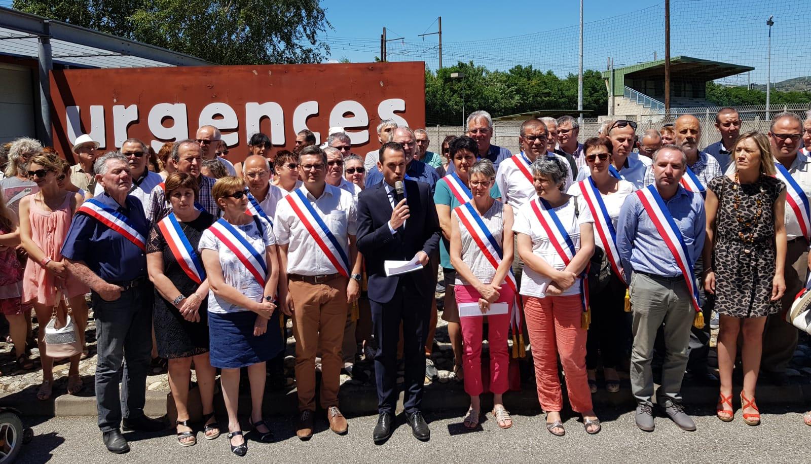 Mobilisons-nous pour le maintien des urgences à Saint-Vallier !