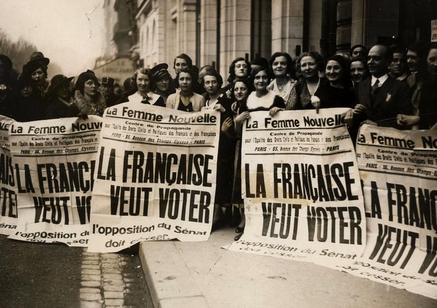 Il y a 75 ans, les Françaises votaient pour la première fois