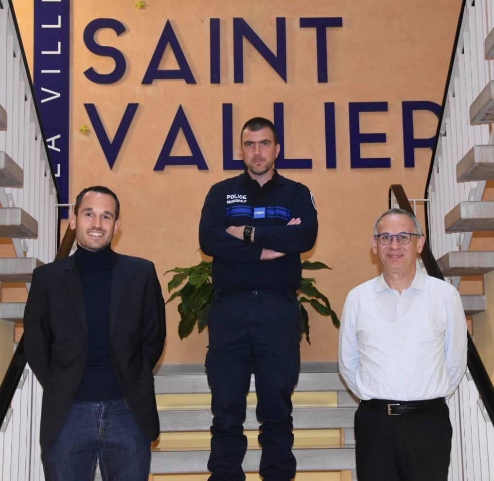 Un nouveau policer municipal à Saint-Vallier