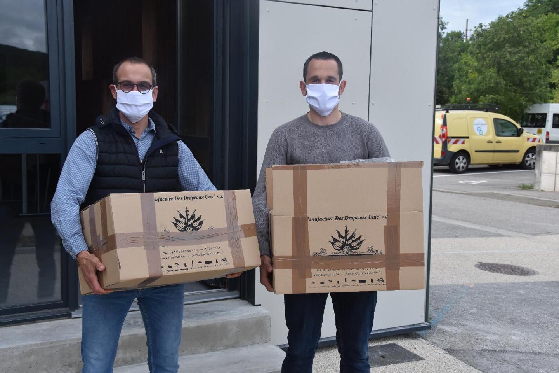 Les livraisons de masques se poursuivent !