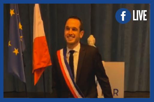 Conseil municipal de Saint-Vallier : discours d'investiture