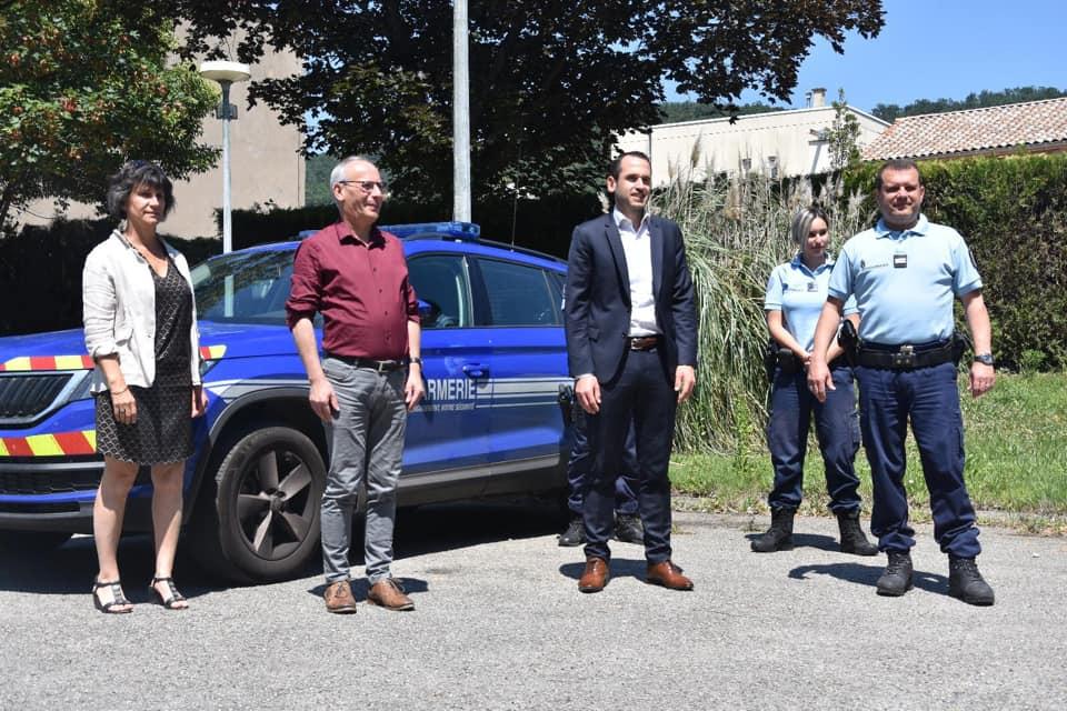 Rencontre avec le lieutenant de Gendarmerie Olivier Roche
