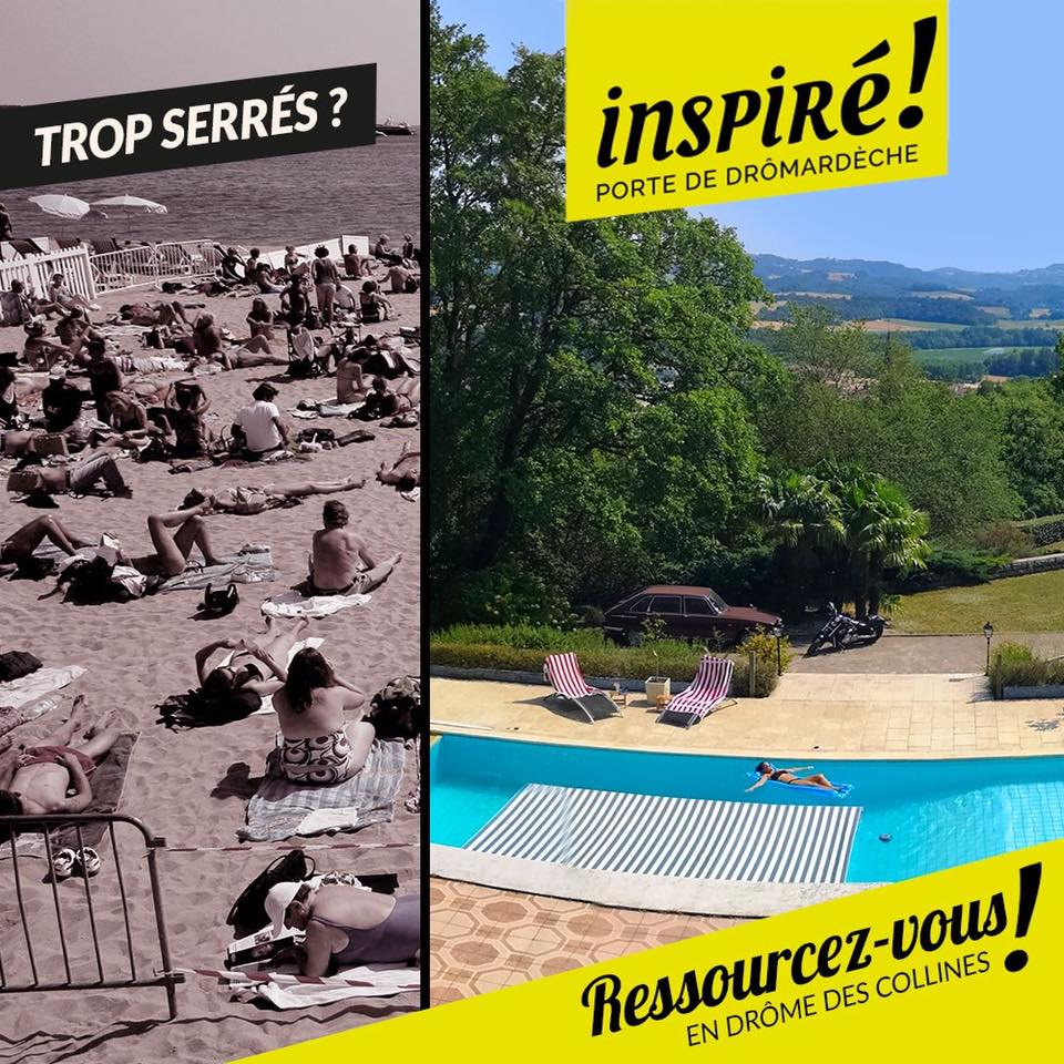 Et si vous veniez en vacances en Porte de DrômArdèche cet été ?