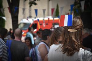 Cérémonie du 14 Juillet à Saint-Vallier