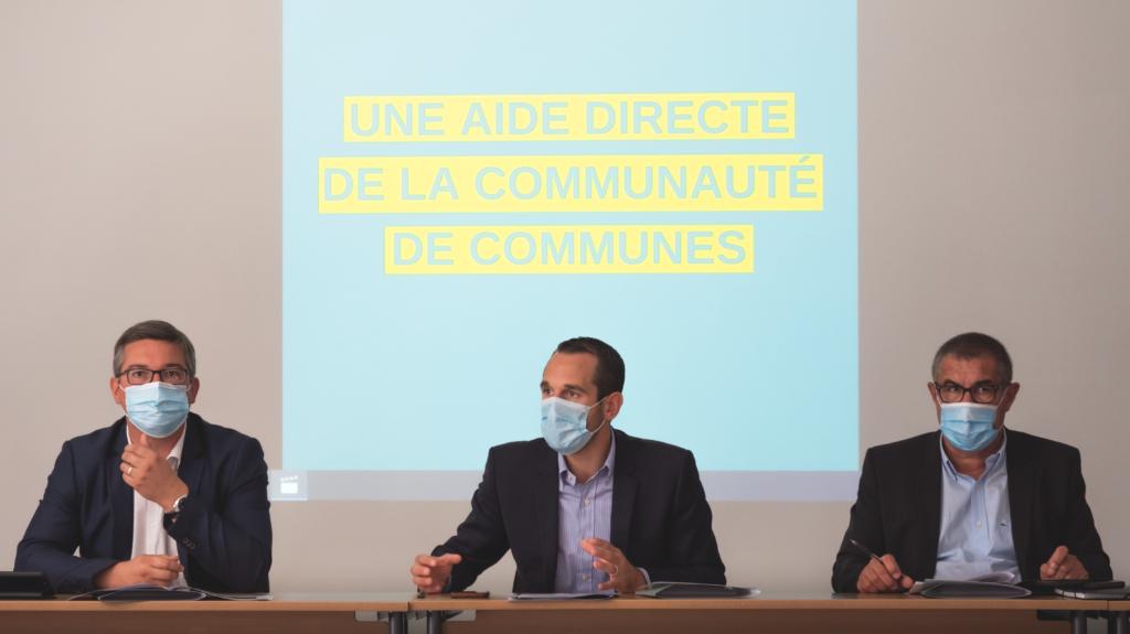 Conférence de presse - Présentation du bilan des aides économiques Covid-19
