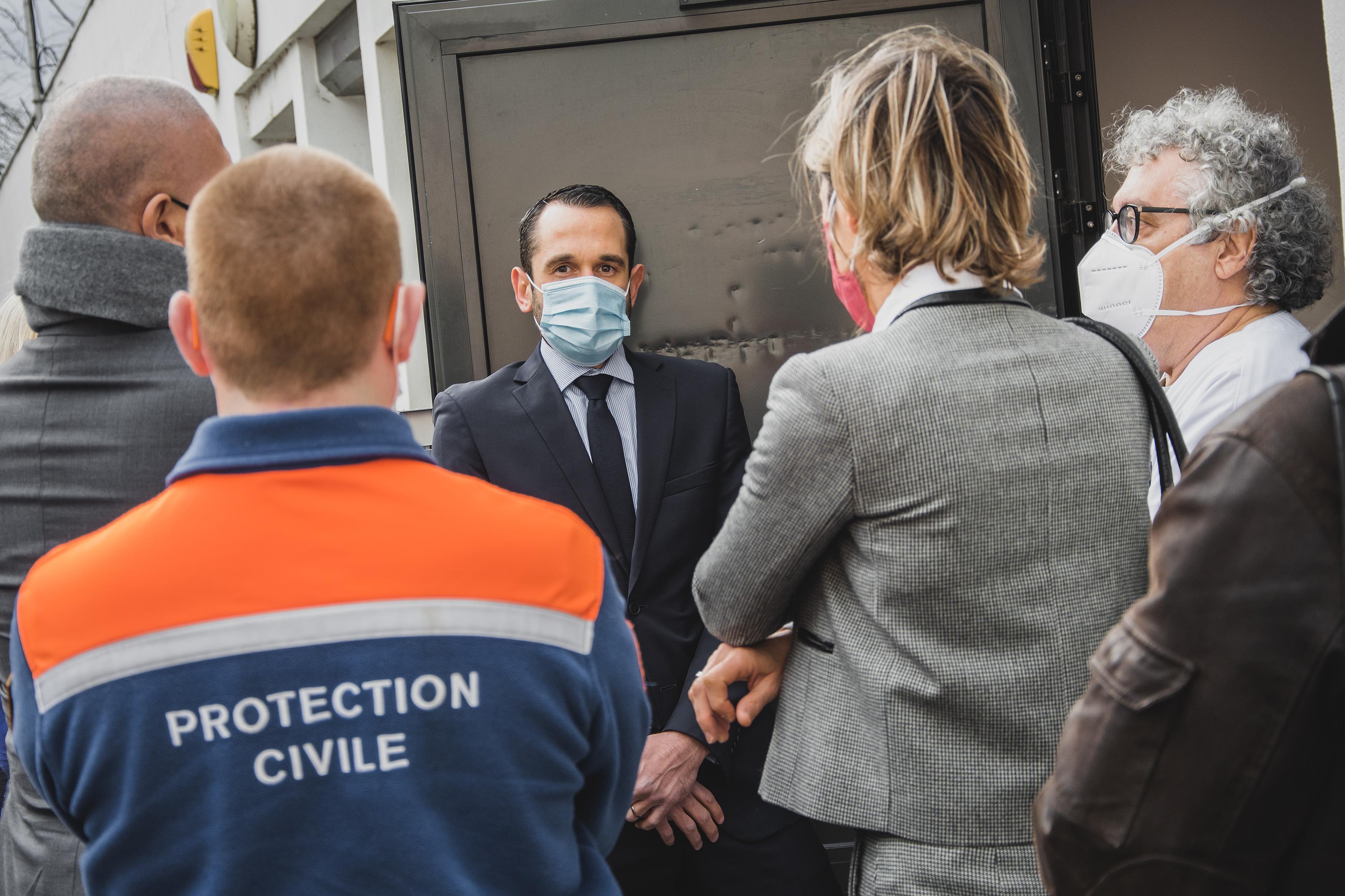 Le centre de vaccination de Saint-Vallier est ouvert